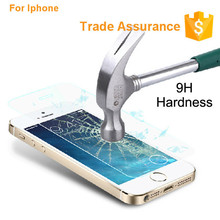 Anti-Shock Tempered Glass Screen Protector For IPhone5