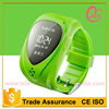 Quad band gps personal watch gps tracker to students elder with two way communication accurate tracking trace