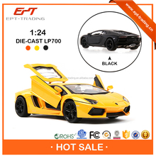 Authorized 1 24 scale diecast toy car model for collection