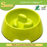 Lovely dog bowl melamine pet food feeder