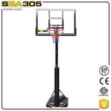 competitive price screw jack standing basketball equipment