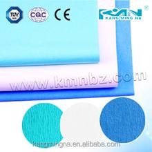 Esterilização crepe de papel verde