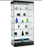 New design wooden glass display cabinet showcase, display cabinet for retail