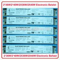 CE 220V 2*36W 2*40W 2X36W 2X40W T8 Electronic Ballast 2 36w