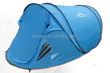 Seam Taped Cheap Blue Pop Up Tent For 2-3 Person Seam Taped