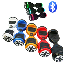 6.5 bluetooth electric scooter cool intelligent smart balance car 2 wheel self balancing scooter with bluetooth and led light