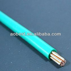 copper conductor electric resistance 1.5 sq mm building electrical wire