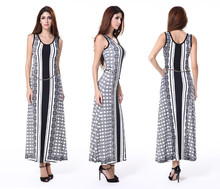 Superior Quality Ladies Sleeveless Casual New Design Dress 2014