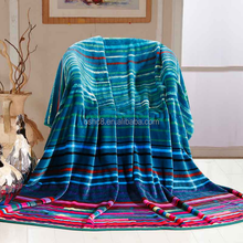 High Quality Polyester Flannel Deep Ocean Blanket Factory China Quilt C