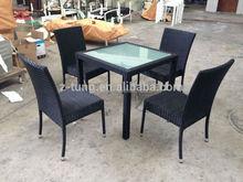 hot quality aluminum rattan commercial hot pot table ZT-1085CT