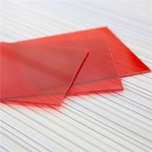 Prix transparent pc ondulé feuille de couverture transparente
