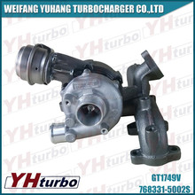 Apply GT1749V turbo charger for Audi car