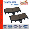 spare part suzuki motorcycle,brake pad for KAWASAKI-ZX6R/SUZUKI-GSXR 750 WR,Motorcycle Disc Brake Pad