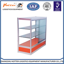 Glass boutique display cabinet showcase
