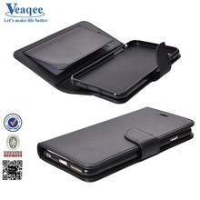 Veaqee wallet PU leather case retro flip pamphlet case for iphone 6