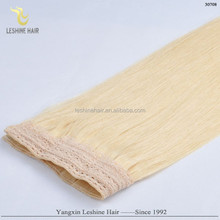 Fashion 2015 Wholesale Alibaba Hair Bands Factory Buying Best Quality fish wire hair extension