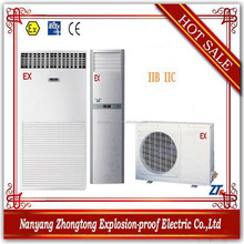 explosion proof floor standing best selling central air conditioner for IIB IIC