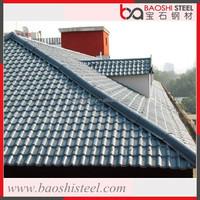 Baoshi Steel zinc aluminium corrugated used roofing sheet in cheap price