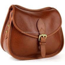Mini Modern Look Round Bottomed Italian Leather Shoulder Crossbody Handbag Satchel Purse Handbag