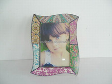 2014 Cheap Colorful Wooden Frame Girl Picture Photo Frame