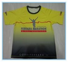 High quality sublimation t shirt/Digital printed sublimation t shirt