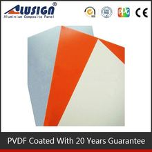 Alusign plastic decorative ceiling panel new design acp aluminum sandwich panel for roofing