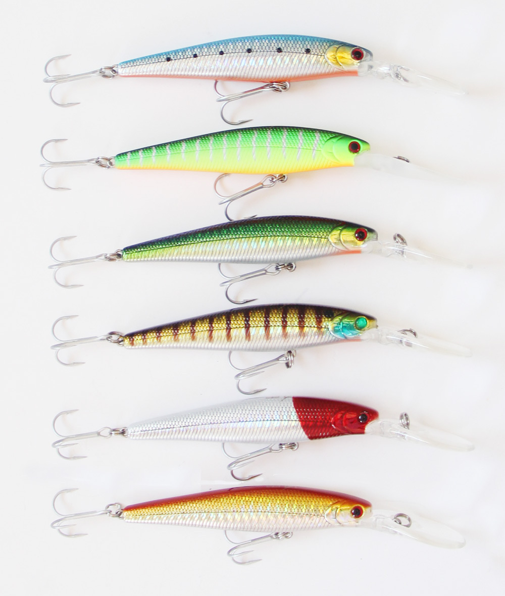 Wholesale 90mm 13g floating 2m chinese hard lure minnow for Wholesale fishing lures