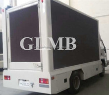 Double sides screen led advertising van,propagate display screen, display screen exhibition truck