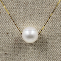 top quality pearl pendant mounting, 18K gold fittings