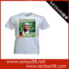 Custom cheap 65% polyester 35% cotton printing election campaign t-shirts