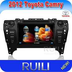 2 din Toyota Camry 2012 Car DVD player GPS