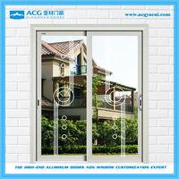 Environmental friendly cheap aluminium sliding door