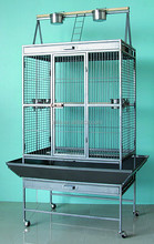 Kings Cages 40x30x72 Parrot Bird toy cage toys macaw cockatoo amazon