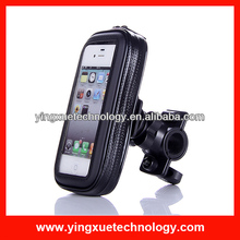 Bike Bicycle Handlebar Water & Shock Proof Cover Mount Holder for iPhone 4/4S