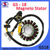 Copper-coated Aluminum Coil GS125 Motorcycle Magneto Stator Coil For Suzuki