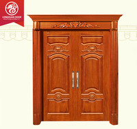 Double used wood exterior door/Main gate/Main gate design