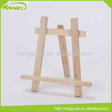Wholesale cheap foldable portable board stand wood easel