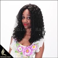 Human hair full lace wigs black straight natural hair line brazilian virgin hair wigs