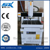 Manufacturer direct SKM-6060 metal mold milling machine mini 3d cnc router with CE