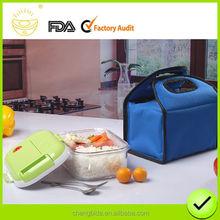 2015 Newest Vacuum Fresh 1.5L PC plastic a square Food Lunch Box