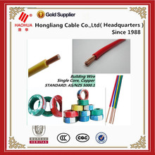2.5mm/4mm/6mm electrical cable for house wiring