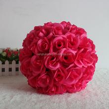Red rose ball decoration light