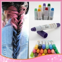 Hair Color Professional Non-Toxic Temporary Salon Color Hair Chalk Dye Pastels 12 colors available