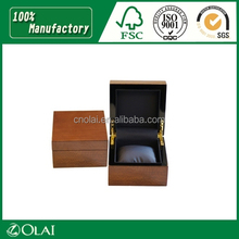 Hot Popular Gift Brown Watch Box Olai Packing
