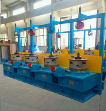 OTO Type/pulley Steel Wire Drawing Machine LW9/560 Controlled by PLC/nail wire making machine