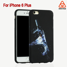 Bottles Rubber TPU Gel Silicone Soft Case Cover Skin Protective For Apple iPhone 6S Plus 5.5 inch With Neutral packing