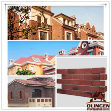 Clay Decorative Surface Brick Textured Wall Panel