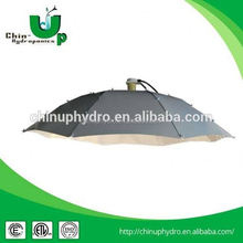 hydroponics plant grow light reflector/ hps grow bulb light reflector/ hot sell parabolic reflector grow lampshade