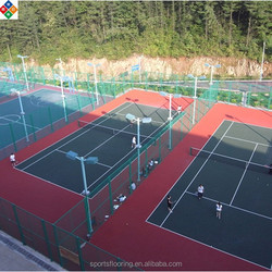 interlocking badminton flooring