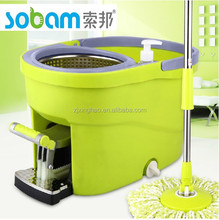 2015 new products four drivers mop with pedal spin mop best selling easy mop